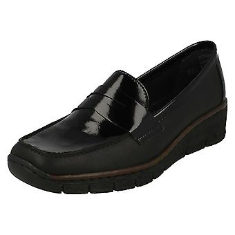 Ladies Rieker Smart Loafer Style Shoes 53752