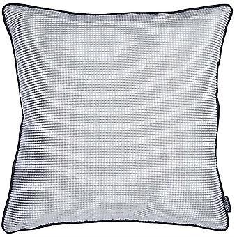 "17""x 17"" Jacquard Shadows Decorative Throw Pillow Cover"