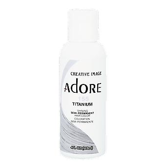 Creative Image Adore Shining Semi-Permanent Hair Color 155 Titanium 118ml