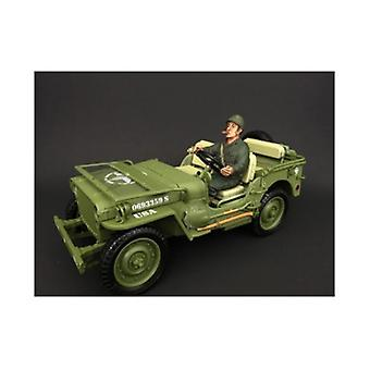 US Army WWII Figura IV Per 1:18 Modelli in scala di American Diorama
