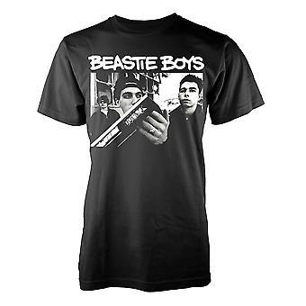 Den Beastie Boombox Rap rock officiella T-shirt