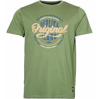 REPLIKA Replika Original Print T Shirt