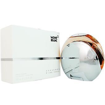 Presence for women by mont blanc 2.5 oz eau de toilette spray
