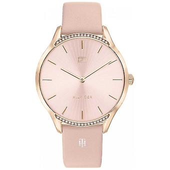Tommy Hilfiger Gray | Pink Leather Strap | Blush Dial | 1782215 Watch