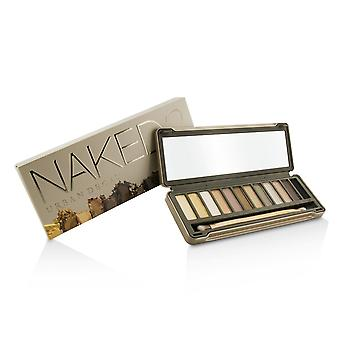 Naked 2 eyeshadow palette: 12x eyeshadow, 1x doubled ended shadow/blending brush 203967 -