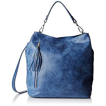 Chicca Bags 80054 Women's Blue Jeans (Blue Jeans) 34x29x14 cm (W x H x L)