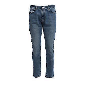 Iceberg 23o160016001 Men's Blue Cotton Jeans