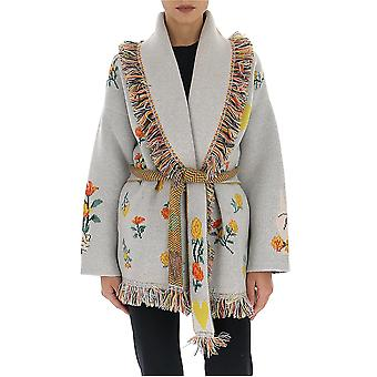 Alanui Lwhb001r20001005k188 Naiset's Harmaa Kashmir Cardigan