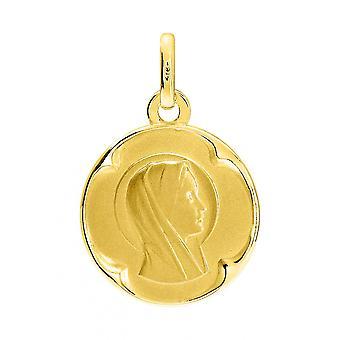 M daille vergine oro 750 giallo (18K)