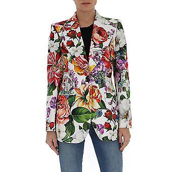 Dolce E Gabbana F29dotfsfjgha1ak Women's Multicolor Cotton Blazer