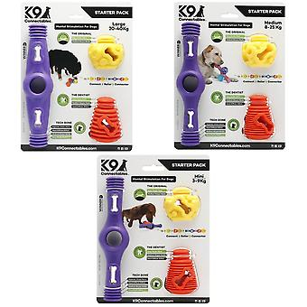 K9 Connectables Dog Mental Stimulation Starter Pack (3 Piece)
