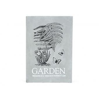 Senso Tavla Cement Garden 21x30cm