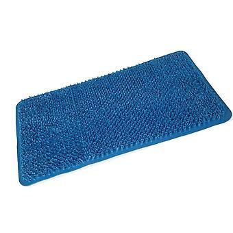 Blauw Comfort PVC Bad Mat 65 X 37cm