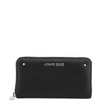 Armani Jeans Original Women All Year Wallet - Black Color 34286