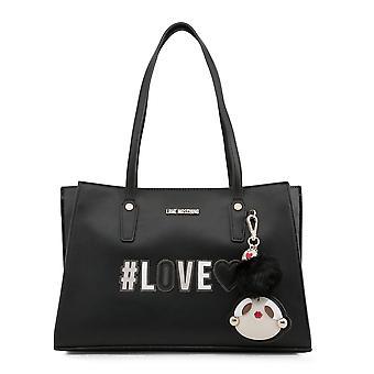 الحب موسكينو الأصلي المرأة الخريف / الشتاء حقيبة الكتف - اللون الأسود 48755