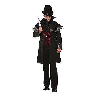 Mens Jack The Ripper Fancy Dress Costume (Extra Large)