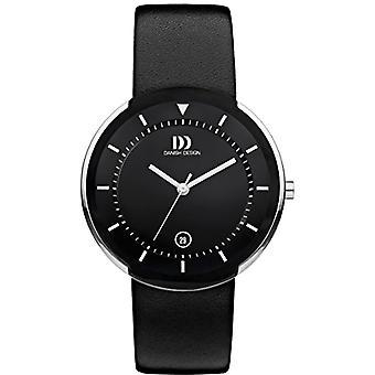 Danish Designs DZ120492-wrist watch, Man, Skin, colour: black