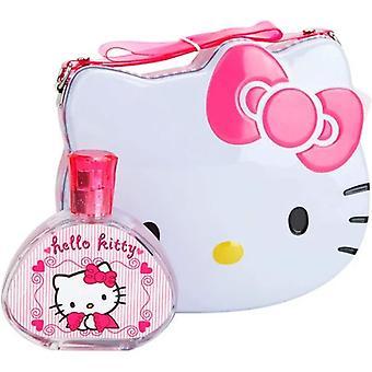 Bonjour Kitty Hello Kitty Eau de Toilette Spray 100ml Ensemble cadeau