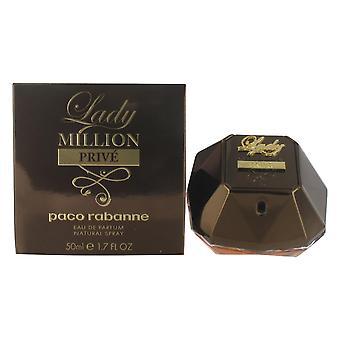 Paco Rabanne Lady Million Prive 50ml Eau de Parfum Spray for Women