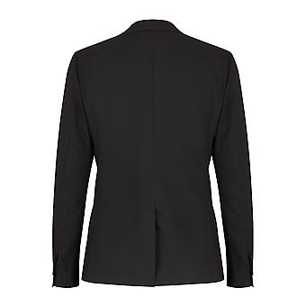 Dolce & Gabbana Two-Button Jacket With Lapels In Solid-Coloured Stretch Wool