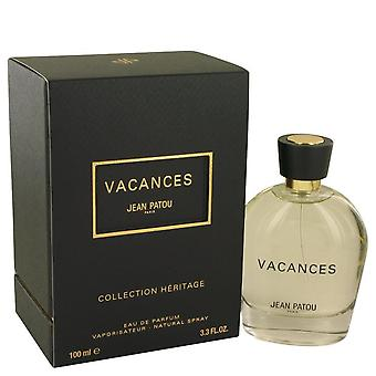 Vacances eau de parfum spray jean patou 537806 100 ml