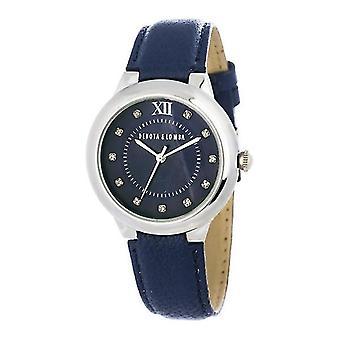 Ladies'Watch Devota & Lomba DL006W-01DBLUE (35 mm) (Ø 35 mm)