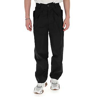 Jacquemus 205pa0520522990 Men's Black Cotton Pants