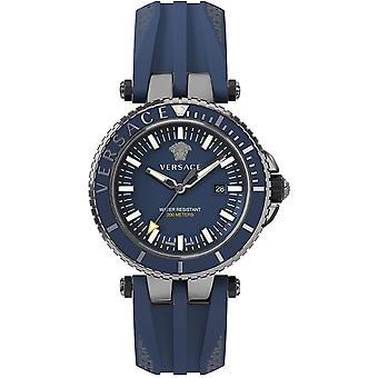 Versace Men's Watch Wristwatch V-Race VEAK00218 Silicone