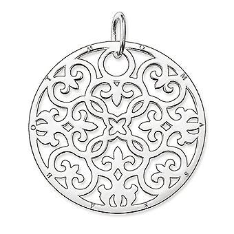 Thomas Sabo Glam & Soul - Frau - Ornament Anhänger - Sterling Silber 925