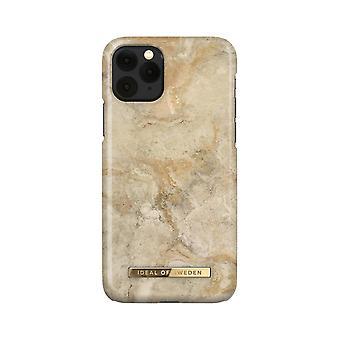 iDeal von Schweden iPhone 11 Pro / XS / X Schale - Sandsturm Marmor