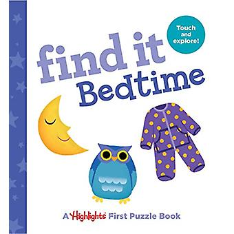Find it Bedtime - Baby's First Puzzle Book by Highlights - 97816843725