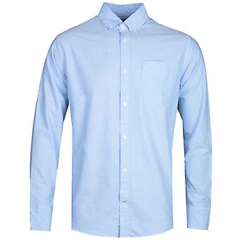 NN07 Levon 5142 Button Down Sky Blue Long Sleeve Shirt
