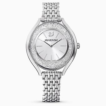 Swarovski 5181008 White Stainless steel Metal bracelet Crystalline Oval Ladies Watch