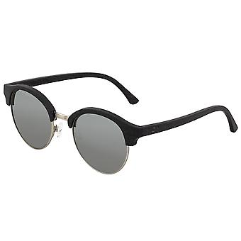Earth Wood Misty Polarized Sunglasses - Ebony/Silver