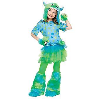 Furry Monster Child Costume