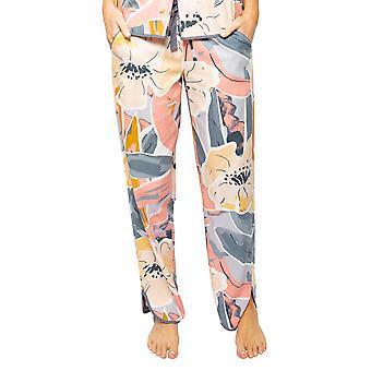Cyberjammies Hallie 4516 Women's Peach Mix Abstract Print Pyjama Pant