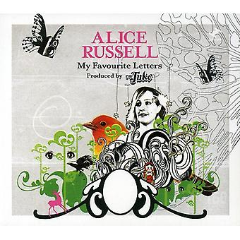 Alice Russell - My Favourite Letters [CD] USA import
