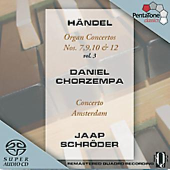 G.F. Handel - H Ndel: Organ Concertos, Vol 3 [SACD] USA import