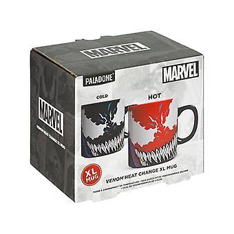 Venom Wärmewechsel große Becher lizenziert Marvel Comics Tee KaffeeBecher Tasse 550ml