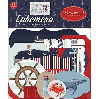 Carta Bella meren rannalla Ephemera