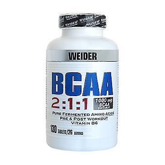 BCAA 2: 1: 1 1000 mg 130 tablets