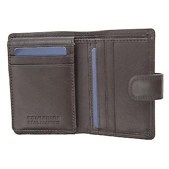 Primehide Mens Leather Card Holder RFID Blocking Wallet Gents Notecase 3104