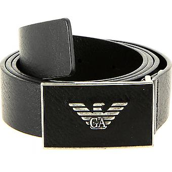 R Tongue Leather Belt - Sigl e Loop