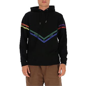 Givenchy Bmj08130af960 Men's Black Cotton Sweatshirt