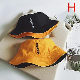 Double-sided, Sun Prevent, Foldable Summer Bucket Hat - Outdoor Sunscreen
