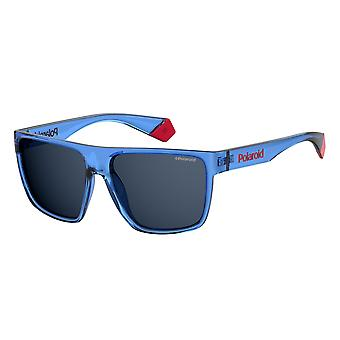 Polaroid PLD6076/S PJP/C3 Blue/Polarised Grey Sunglasses