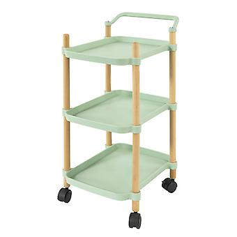 SoBuy SVW06-GR,3 Tier Serving Trolley for Kitchen and Living Room