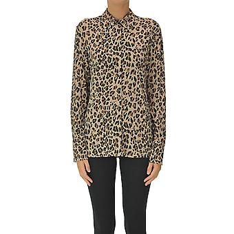 Malìparmi Ezgl194040 Femmes-apos;s Leopard Viscose Shirt
