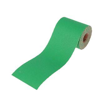 Faithfull Aluminium Oxide Sanding Paper Roll Green 115mm x 10m 80g FAIAR1080G