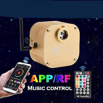 Bluetooth Twinkle Cree Chip Fiber Optic Engine Smartphone App Control Music Control 16w Rgbw Led Light Driver For All Fibers